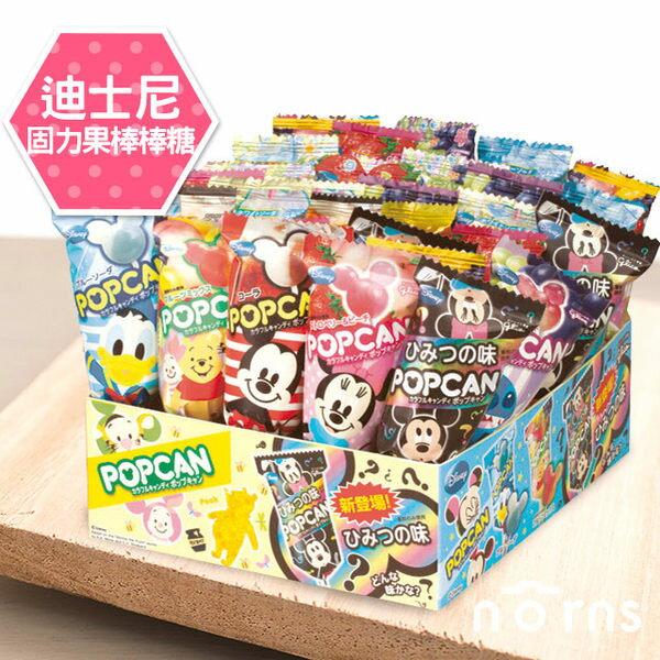 NORNS 【日本進口Glico迪士尼固力果棒棒糖】糖果零食 米老鼠 史迪奇 維尼 不挑款