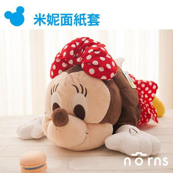 NORNS 【米妮面紙套】迪士尼正版授權 卡通造型娃娃 米妮 米老鼠 玩偶