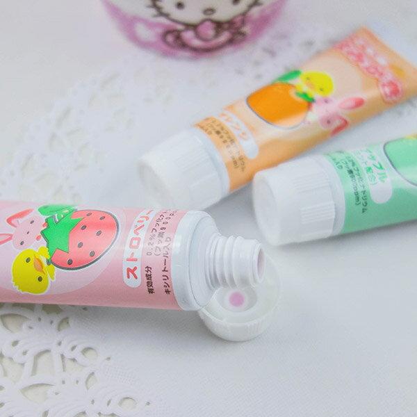 日本GC兒童牙膏40g (草莓/蘋果/橘子) 2