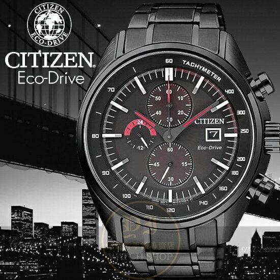 CITIZEN日本星辰Eco-Drive七夕情人光動能限量計時腕錶CA0595-54E公司貨/禮物/復古/型男