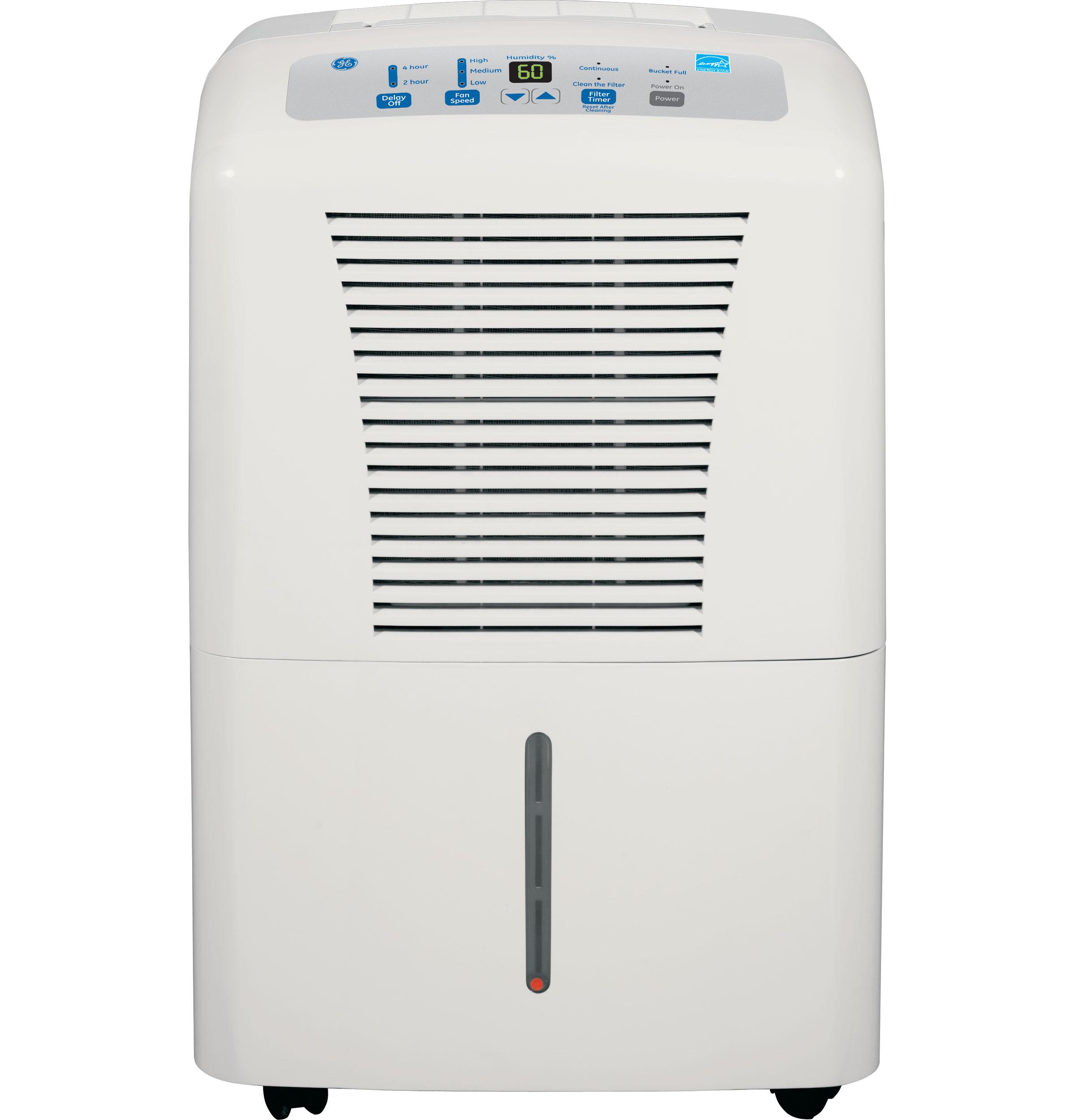 美國 GE 奇異 ADER50L 微電腦觸控按鍵 美式除濕機(24公升)