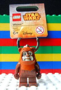►法西歐_桃園◄  LEGO 樂高 KEYCHAIN 鑰匙圈 STAR WAR 星際大戰 Wicket 伊沃克族