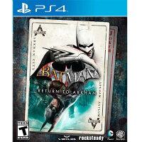 蝙蝠俠與超人周邊商品推薦PS4 蝙蝠俠:重返阿卡漢 英文美版 Batman: Return to Arkham