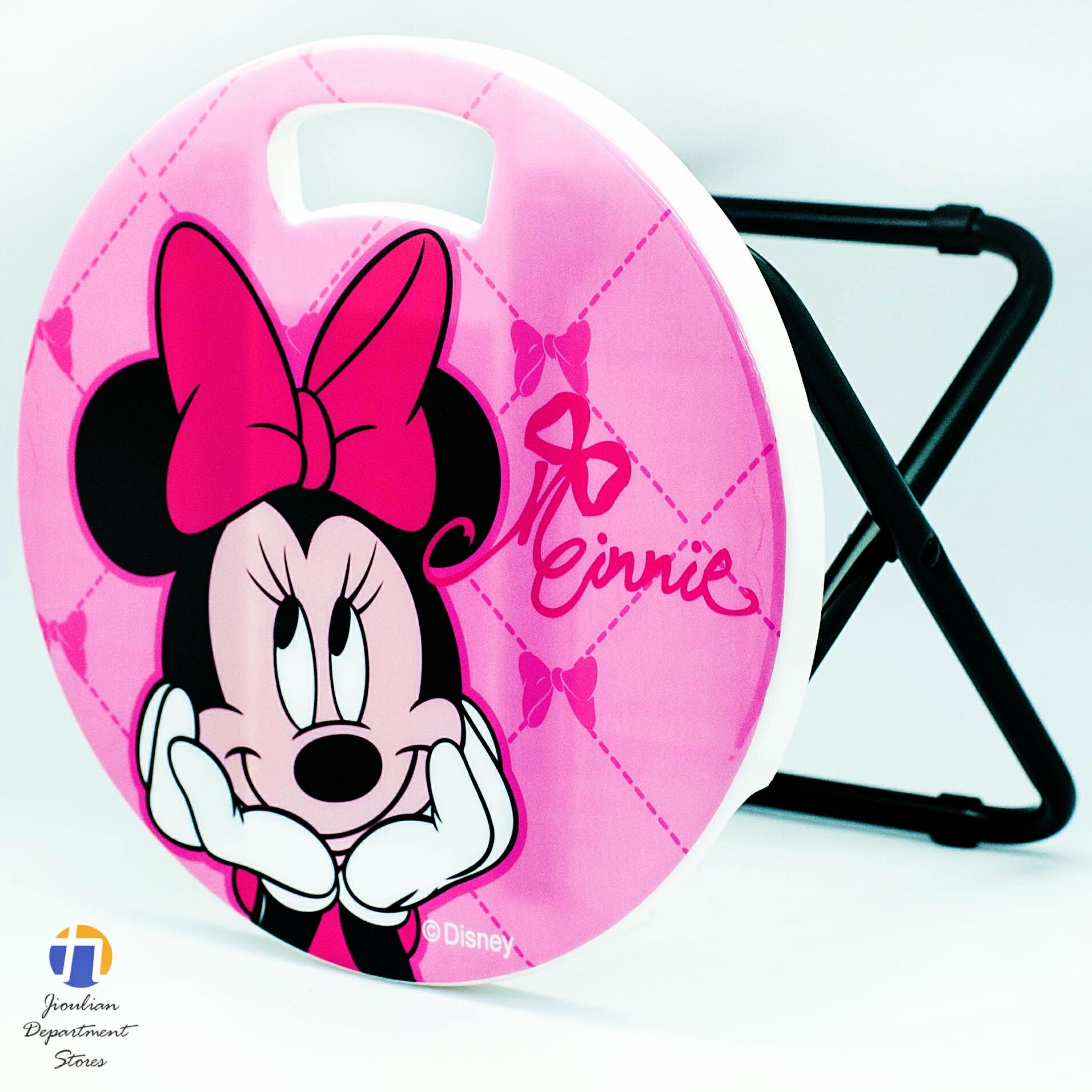 {九聯百貨} 米妮 Minnie Mouse 鐵管矮凳椅 (bm-210012)