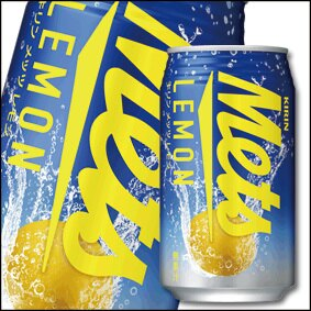 Kirin麒麟Mets碳酸飲料-檸檬風味350ml