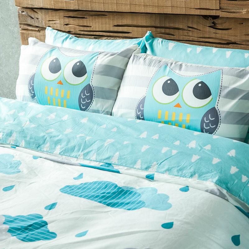 床包 / 雙人【奇幻不思議-遇見朵朵-兩色可選】含兩件枕套,100%精梳棉,奇妙童話時光,戀家小舖,台灣製