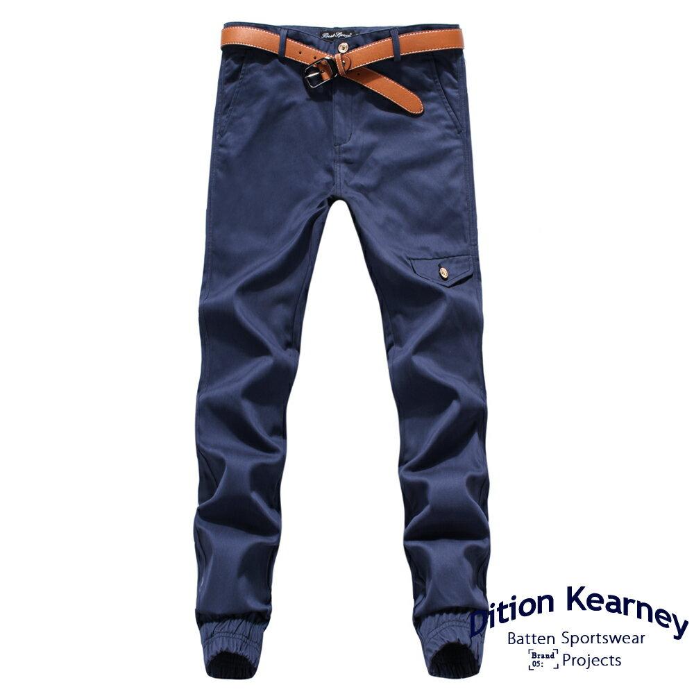 DITION   軍風釘釦JOGGER側口袋七分縮口褲 合身版 4