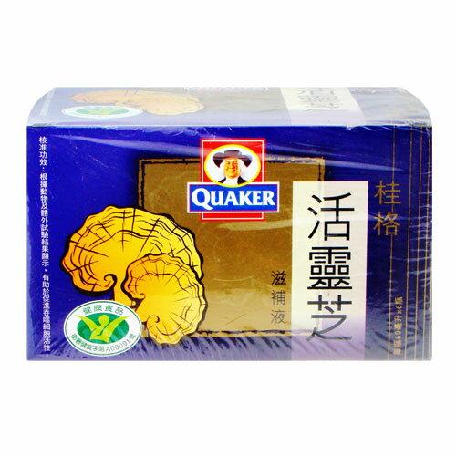 QUAKER桂格 活靈芝滋補液60mlx6/盒