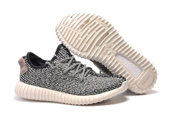 Adidas Originals Yeezy Boost 350 男女情侶運動休閒鞋(白黑36-45)