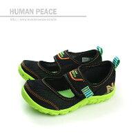 New Balance 美國慢跑鞋/跑步鞋推薦New Balance 207系列 涼鞋 黑 小童 no716