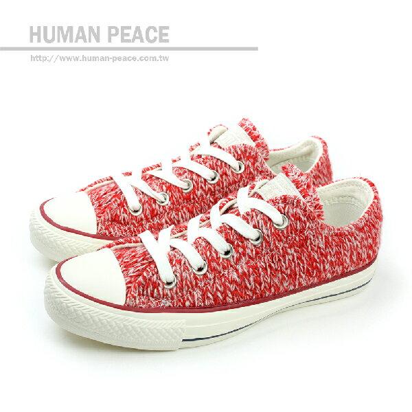 CONVERSE Chuck Taylor All Star 紡織物材質鞋面 保暖 舒適 戶外休閒鞋 紅 女款 no072