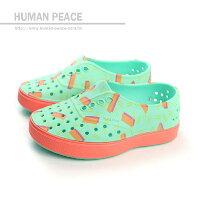 native 輕量懶人鞋、休閒防水鞋到native MILLER CHILD 洞洞鞋 綠 小童 no310