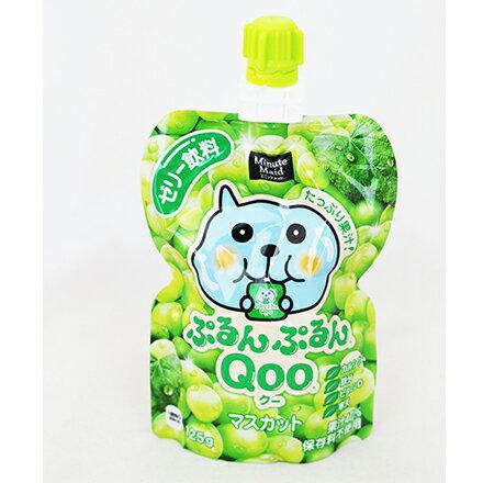 [敵富朗超市]Qoo果凍飲便利包-青葡萄