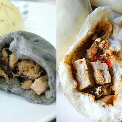 【犒吆包】 ※創新肉包※ 竹炭香菇雞(10入)+麻婆豆腐包(10入)