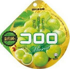 現貨供應 日本 UHA味覺糖_コロロ果汁軟糖/QQ軟糖(白葡萄)