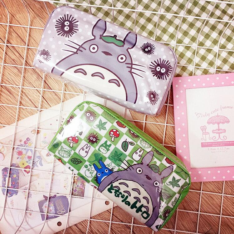 PGS7 卡通系列 ~ 龍貓 系列 亮皮 萬用收納包 筆袋 鉛筆盒 Totoro 吉卜力