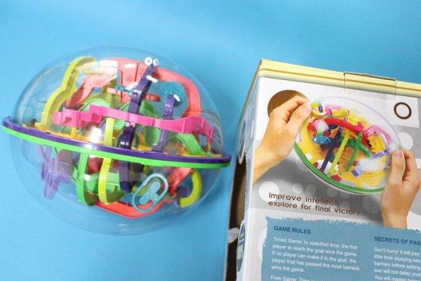 智慧軌道球 NO.939 極致版智力球 299關迷宮球(第九代橄欖型)/一個入{促399}