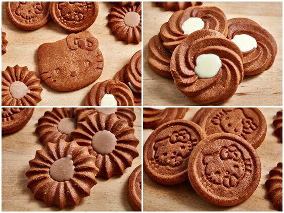 有樂町 中秋歷年暢銷款 超可愛Kitty造型巧克力餅乾禮盒 1