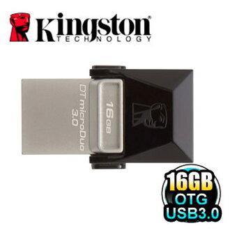 金士頓 Kingston DTDUO3 16G DataTraveler microDuo 3.0 16GB OTG 隨身碟[天天3C]