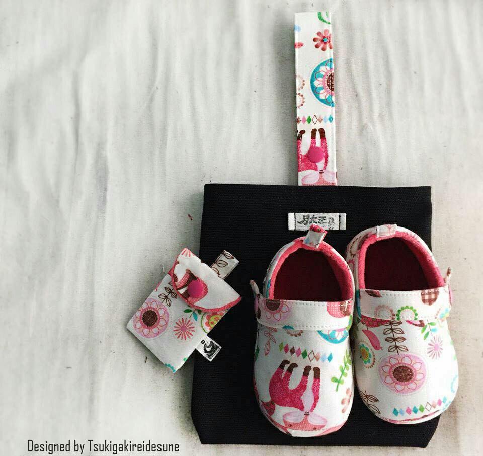 親親我的寶貝彌月寶寶鞋組