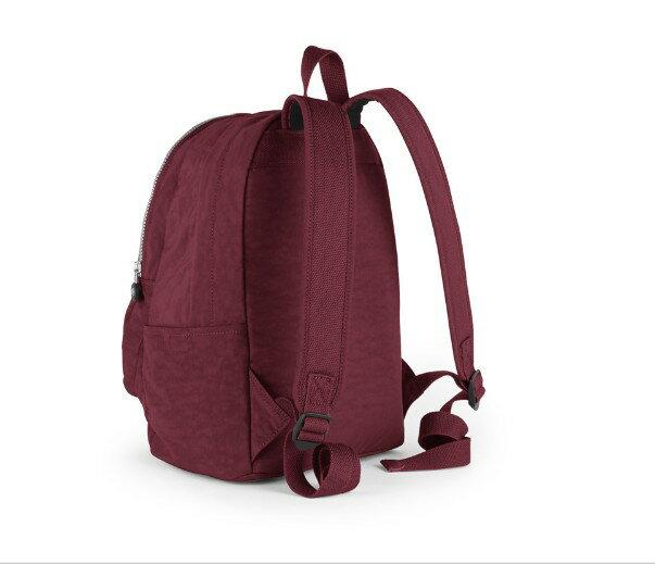 OUTLET代購【KIPLING】時尚經典Seoul旅行袋 斜揹包 肩揹包 後揹包 酒紅色 1