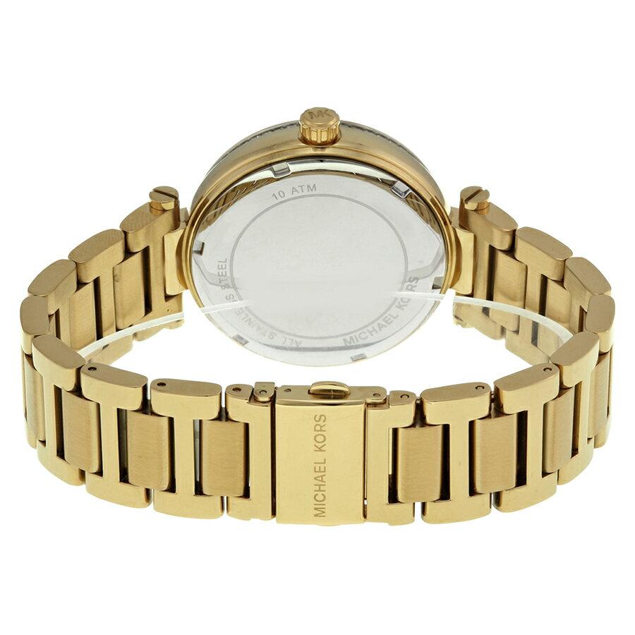 美國Outlet正品代購 MichaelKors MK 復古羅馬鑲鑽馬腦綠  陶瓷  三環 手錶 腕錶 MK6065 3