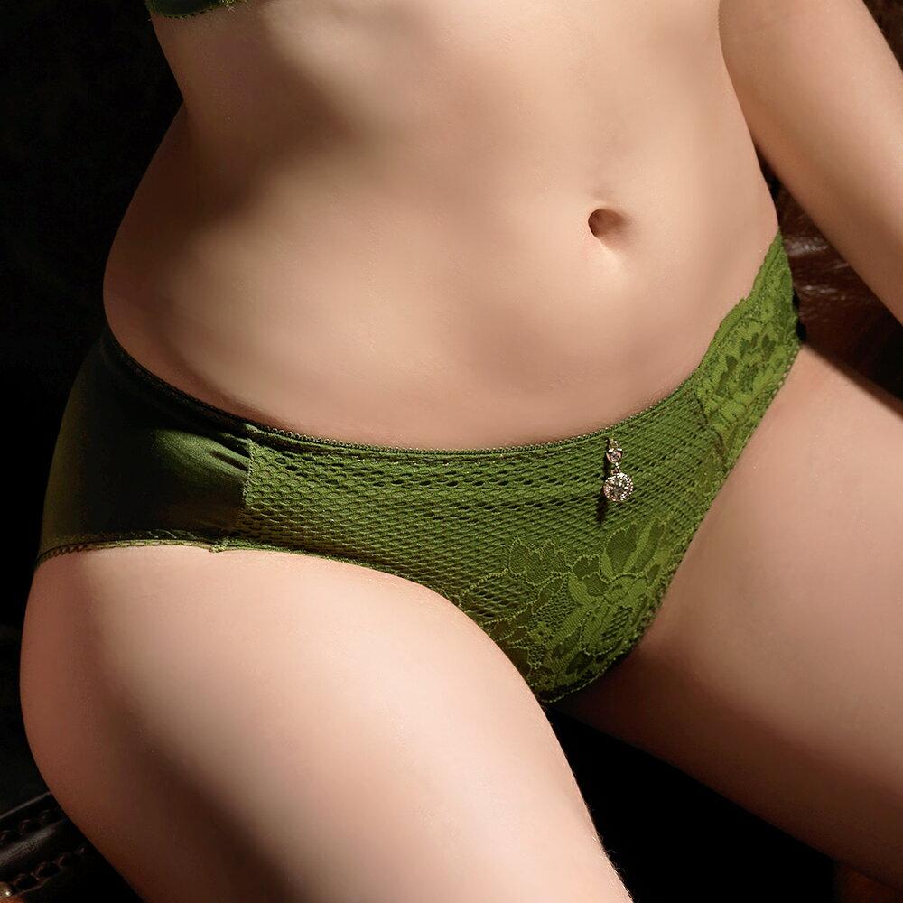【Favori】魔力 玫情芬芳三角褲 (春芽綠) 1