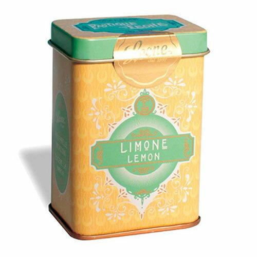 【PASTIGLIE LEONE里歐雷糖果】義式經典復古鐵罐★柔和黃~檸檬★ 0