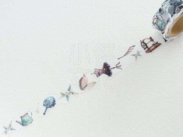 *小徑文化* | 台灣原創紙膠帶 | 黑夢蝶 - 古物 ( 402 ),RT承製,台灣限定販售