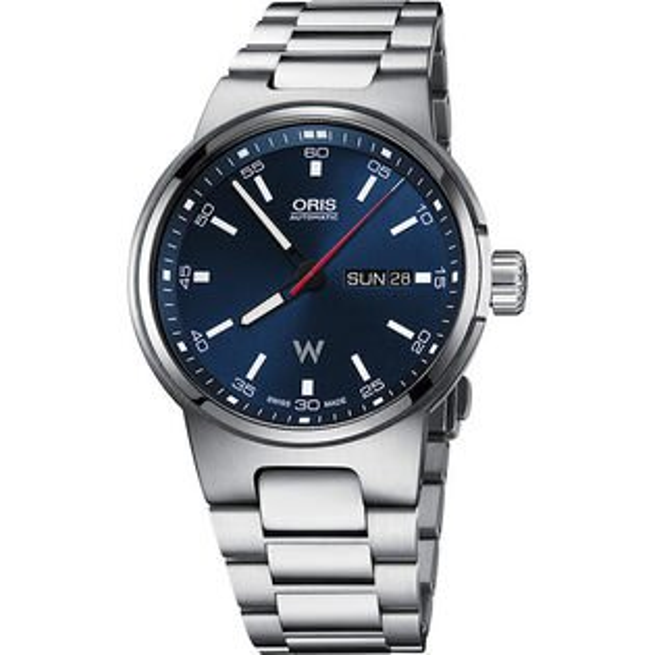 ORIS 豪利時0173577164155-0782450 Oris Williams 日曆星期表械腕錶/藍面42mm