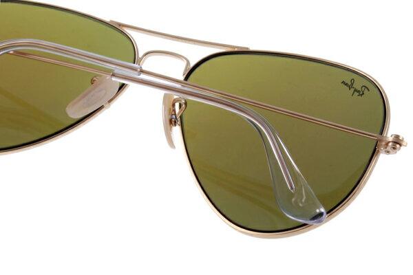 Ray Ban 雷朋 水銀鍍膜金邊藍鏡 太陽眼鏡 RB3025 6
