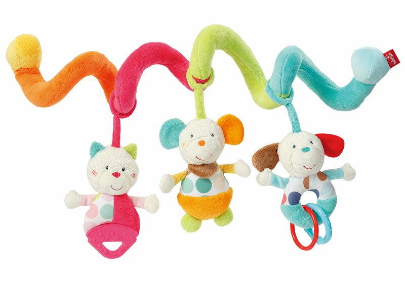 德國【BabyFEHN】彩色嘉年華布偶扭扭圈玩具 0
