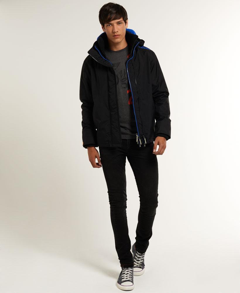 [男款] 英國代購 極度乾燥 Superdry Arctic 男士風衣戶外休閒 外套夾克 防水 防風 保暖 黑色/寶藍 3