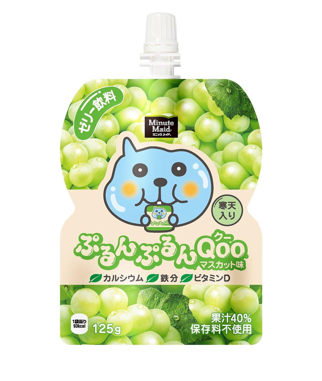 有樂町進口食品 日本 寒天果凍飲 葡萄/青葡萄/柳橙/水蜜桃 4902102100519 1