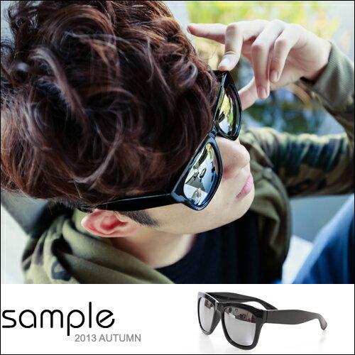 太陽眼鏡【Sample】水銀鏡面反光太陽眼鏡/墨鏡【SA6018】