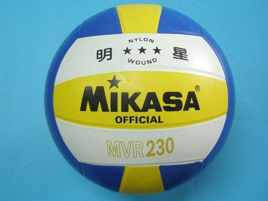 明星排球 MIKASA排球 MVR230 明星三色5號排球/一個入{促450}