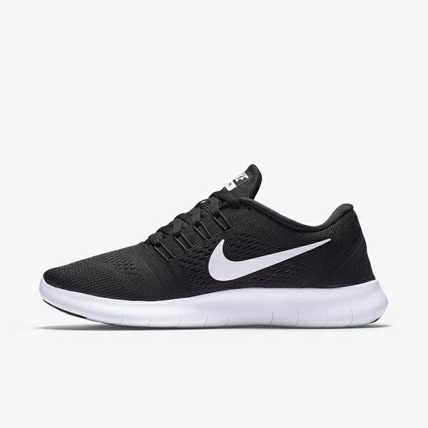 【7折免運】Nike Free Run 5.0 黑白 男女鞋