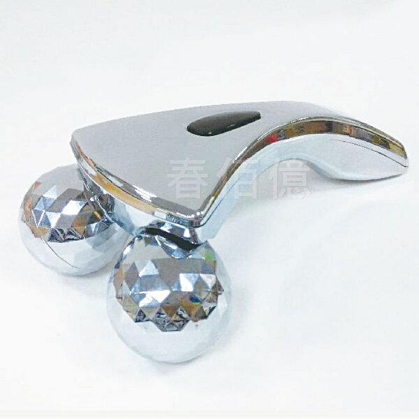 鉑麗星 3D美體滾輪按摩儀(1入) 滾輪按摩器 身體按摩推輪 頸部按摩推棒 緊緻按摩 揉捏按摩 360度擬人手捏感推拿拉提按摩儀