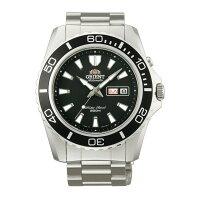 送男生聖誕交換禮物到Orient 東方錶(FEM75001B)經典潛水機械腕錶/黑面44.5mm