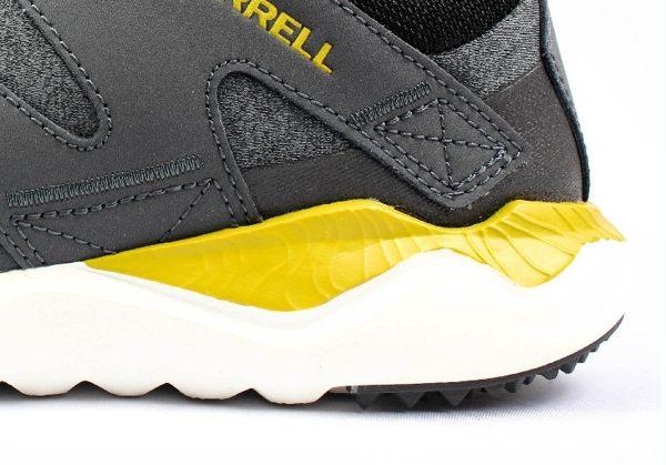 MERRELL 1SIX8 LACE 168系列 都會休閒款 避震氣墊 舒適耐走 灰 男款 7