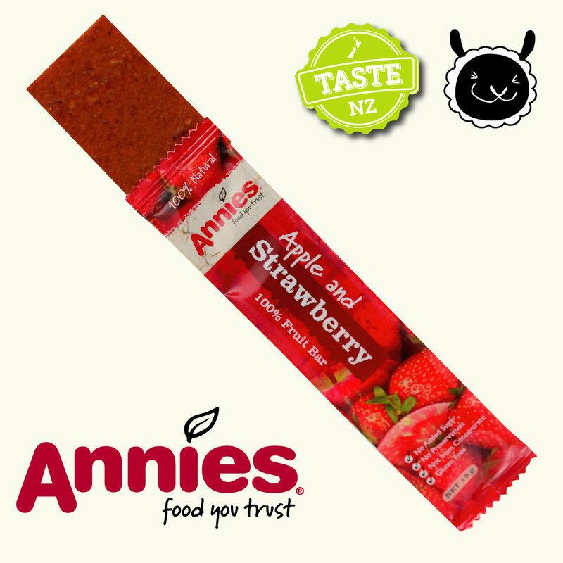 【壽滿趣- 紐西蘭原裝進口】Annies 全天然水果條(草莓6盒, 36片家庭裝) 1