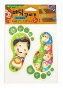 地板防滑貼片(5入)白雪公主 德德 韓國 浴室 螢光 防滑貼片 防滑片 止滑帶 非3M 保護 老人 小孩 孕婦 安全