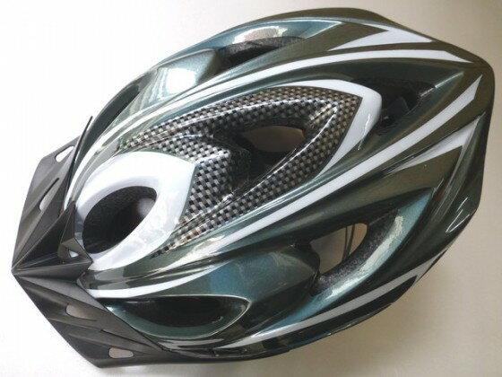 鉅盛 自行車安全帽 可調式 (暗藍灰色)《意生自行車》