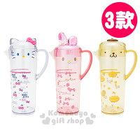 布丁狗周邊商品推薦到〔小禮堂〕Sanrio三麗鷗 造型冷水壺《3款選1.透明.大臉》容量1.1L