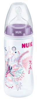 『121婦嬰用品館』NUK 寬口徑PP奶瓶300ml - (1號中圓洞) 1