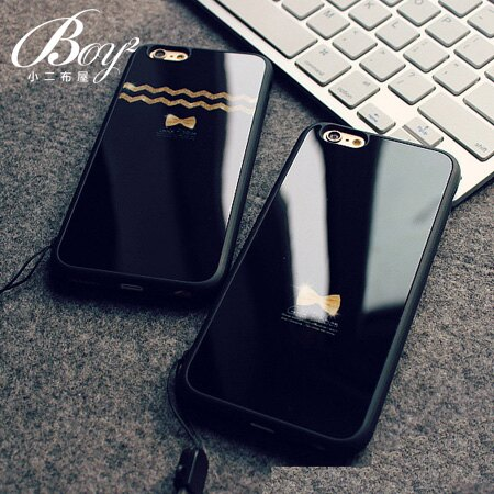☆BOY-2☆【N4013】韓版鏡面掛繩手機殼 蘋果iPhone6 5/5s - 限時優惠好康折扣