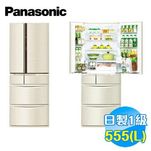 國際 Panasonic 555公升 旗艦ECONAVI六門變頻冰箱 NR-F560VT