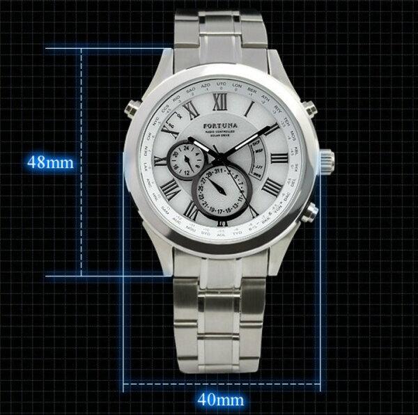 太陽能手錶商務禮品男錶
