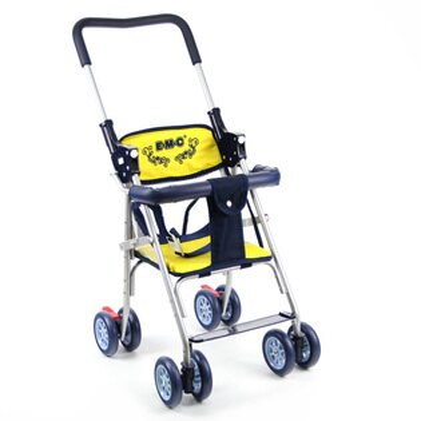 EMC可推式幼兒乘坐椅-黃