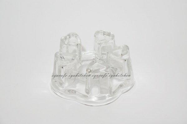 《愛鴨咖啡》水晶玻璃 愛心 花茶壺 爐座-小